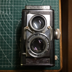 ansco automatic reflex双反相机