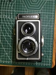 蔡司 双反 zeiss ikoflex 6x6中画幅相机