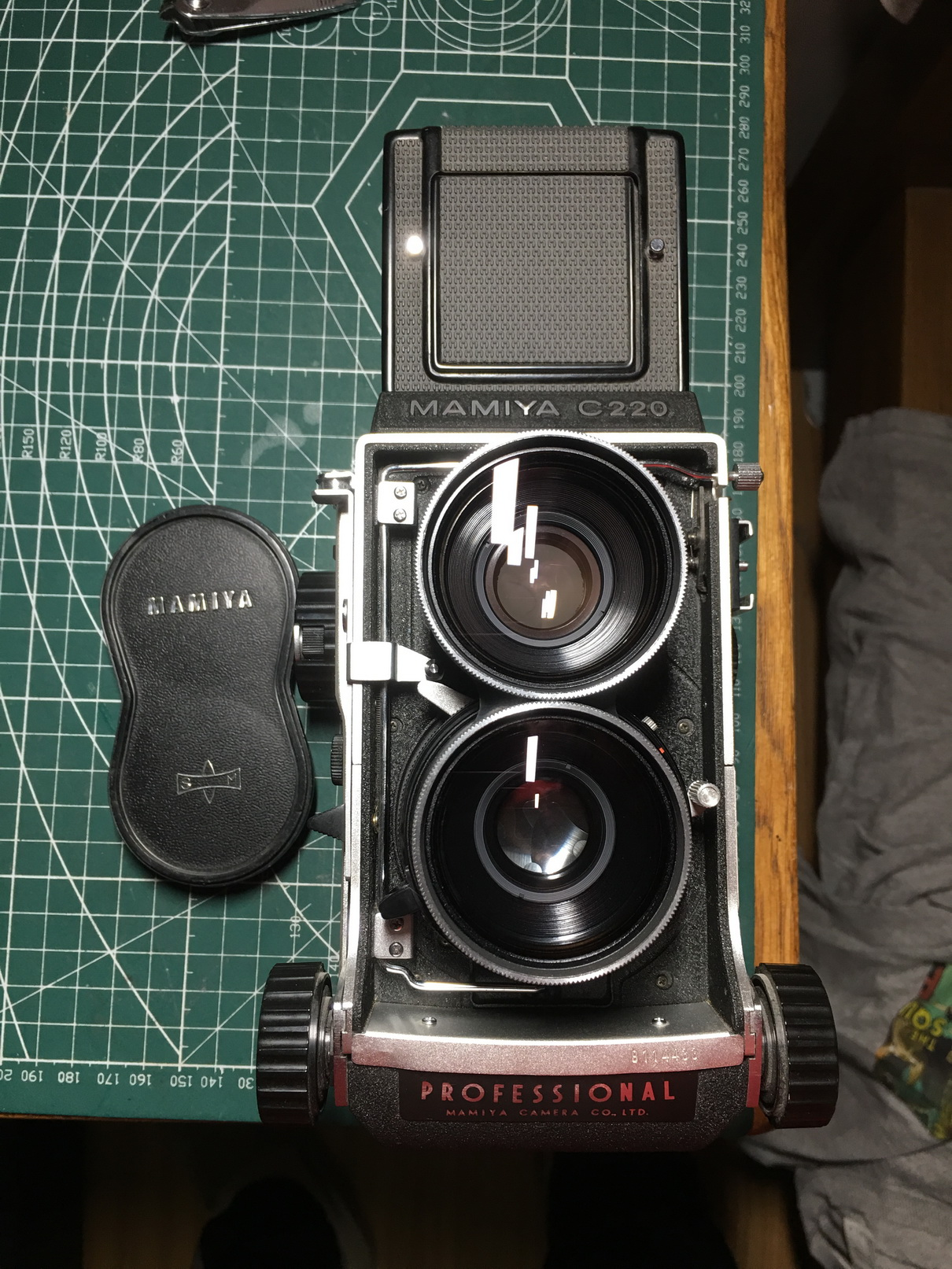 玛米亚 c220加65mm f3.5