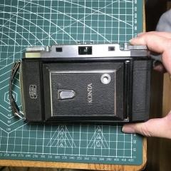 蔡司 zeiss 524 大8张69折叠相机