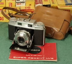 美版AGFA SUPER SOLINETTE---ANSCO SUPER REGENT