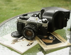 Canon AE-1p套机连说明书
