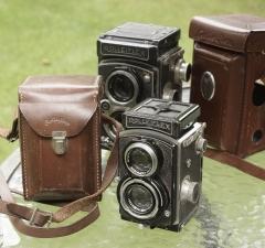 二战期间生产的Rolleiflex----4x4 sport