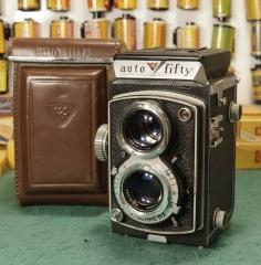 美国相机公司USC出的双反---AUTO FIFTY