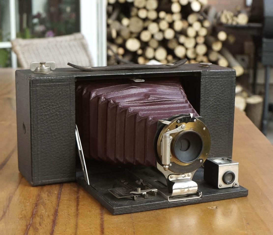 百年红腔--NO.3A  Brownie Folding model A