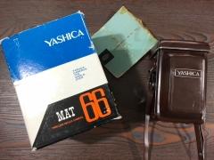 完美成色袋包装的亚西卡 yashica mat双反