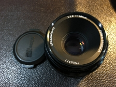 好成色 勃朗尼卡 bronica PE 75/2.8 镜头 etr系列用标准镜头