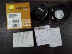新同品nikon ais 50/1.2大眼睛+HS-12遮光罩