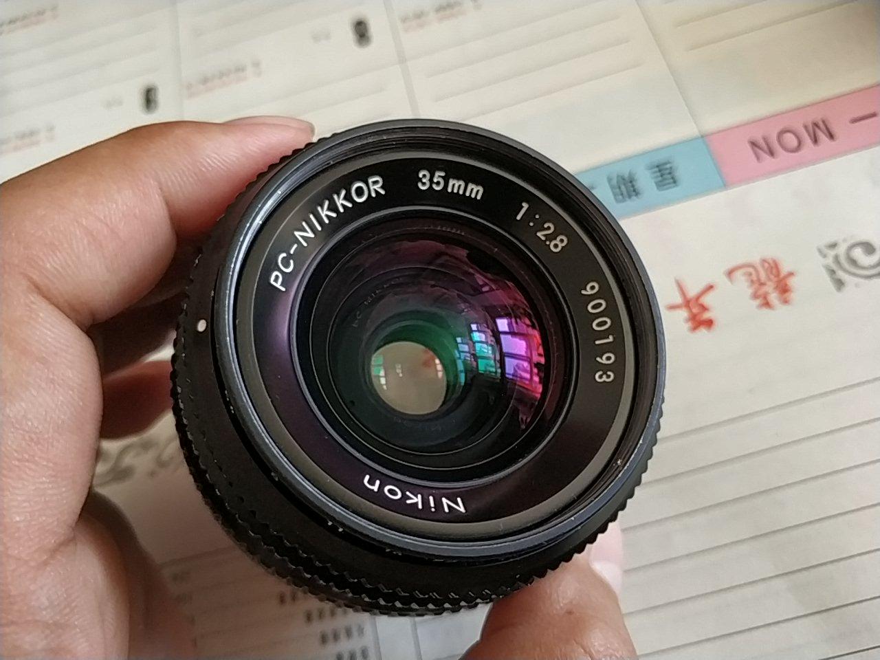 尼康 pc 35 2.8 手动镜头