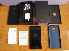 华为Mate20X,宝石蓝6+128G,原包装配件齐全,全国联保。