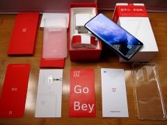 一加 OnePlus 7 Pro 星雾蓝色8+256G 不到一个月的机器。