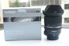 腾龙SP24-70mm F/2.8 VC A007 腾龙镜皇 24-70 2.8 98新