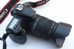 佳能EOS 60D 中端旗舰单反 适马18-200 OS防抖镜头套机