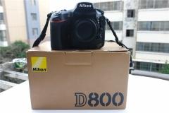尼康D800 全画幅机王 8系高端 3600万像素 96新 全套包装齐全