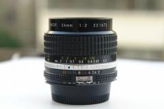 尼康 24mm f/2  经典名镜 尼康经典大光圈广角AI-S 24/F2