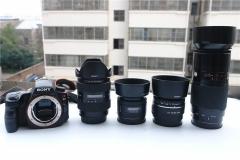 索尼A37单电  16-105, 70-210 F4, 50 1.4 ,35 1.8 四镜头套机