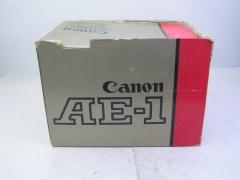 大全套箱说全佳能AE-1相机,AE-1机身+佳能FD 50 F1.4 S,S,C镜头+所有箱说