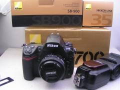 尼康D700机身+尼康 35 F2 D镜头+尼康SB-900闪光灯,价格958-4288元