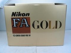 全新尼康FA全球定制版金机,超靓,价格12888元包邮