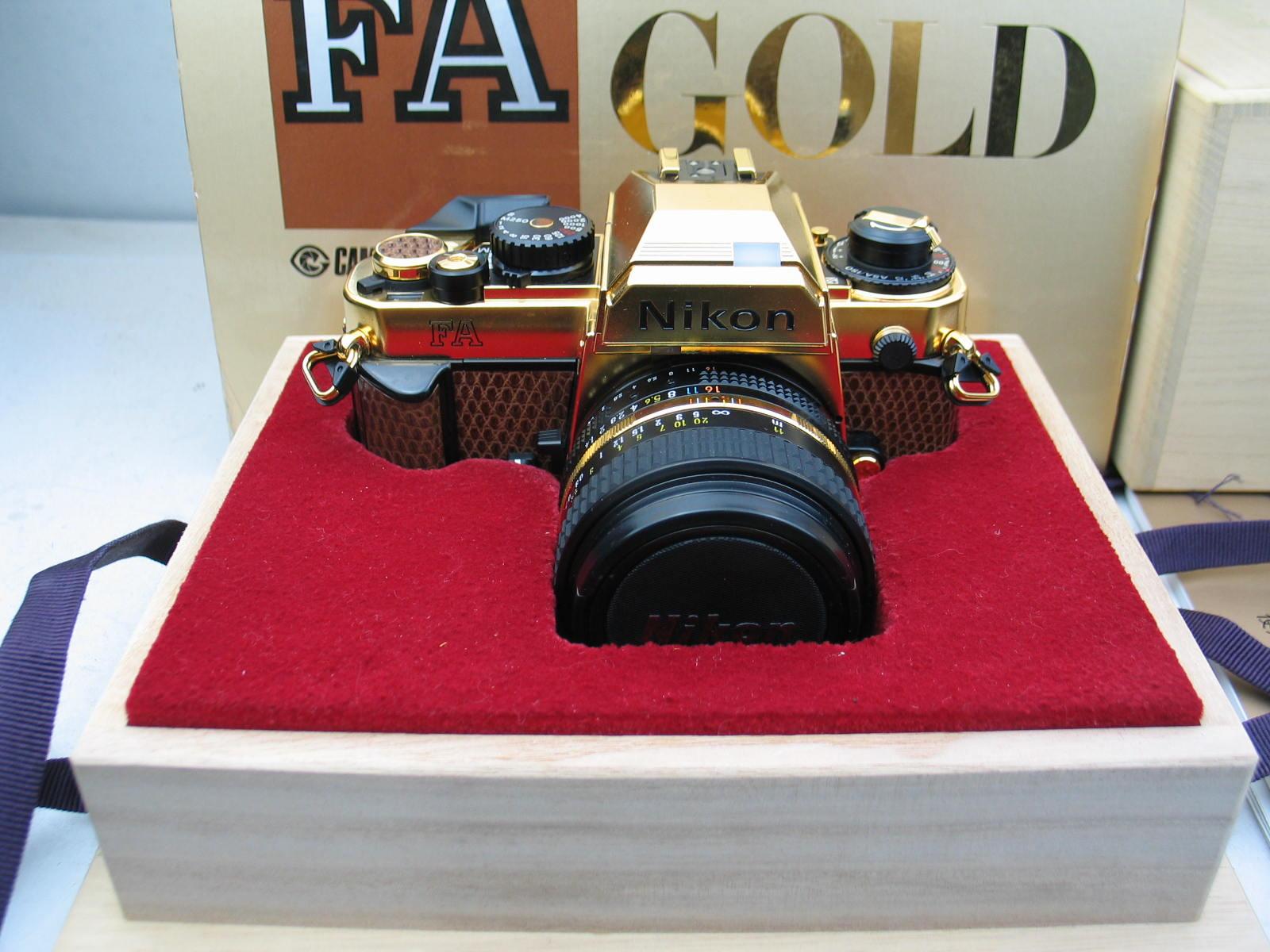 全新尼康FA全球定制版金机,超靓,价格12588元包邮