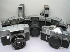 尼康瑞克斯大全套所有的5台相机2台摄像机,打包共计1588元包邮