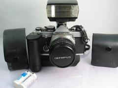 奥林巴斯OM-2N机身+奥巴50 F1.4镜头(百万号)大全套,价格1098元包邮