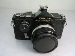 柯尼卡AUTOREX机身(黑色,稀有)+柯尼卡50 F1.8镜头,价格1188元包邮
