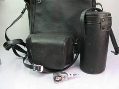 奥林巴斯PEN-F一机两镜头,一个测光器,一个自拍定时器,一个兜子,打包价格1198元包邮