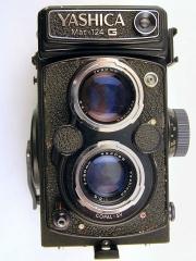 yashica124 g双反相机