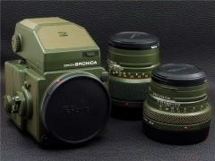 ┢┦稀少┻┳═一勃朗尼卡BRONICA 645 LIMITED 军绿色限量版