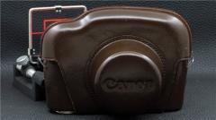 ┢┦佳能┻┳═一CANON P用 原厂相机套