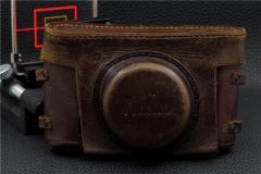 ▄︻┳═一--美能达MINOTLA 1型 2型 旁轴用 原厂皮套