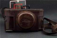 ▄︻┳═一--徕卡LEICA 1A 1型用 原厂皮套及背带【美品】