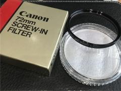 佳能 CANON 72mm 天光镜 原厂滤镜【全新未使用】
