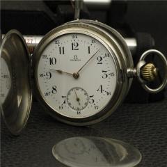 1900年 欧米伽 OMEGA 巴黎大赛金奖 800银怀表