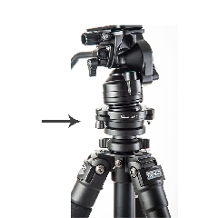 Skier速奇 单反相机摄影三脚架油压云台快速水平微调整平衡器
