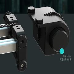 edelkrone土耳其摄像增距单反桌面 滑轨SliderPLUS手动阻尼调节器