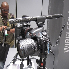 SENNHEISER- MKE600采访电容麦影视同期摄像机手机单反话筒