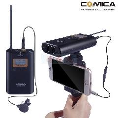 COMICA 100米全指向性U段无线领夹式话筒 适用相机、手机、摄像机