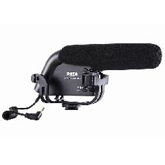 BOYA BY-VM190 摄像机 单反相机 DV外接话筒 采访录音枪式麦克风