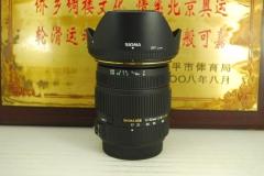 99新 a口 适马 17-50 F2.8 EX HSM 单反镜头 非全幅广角中焦挂机