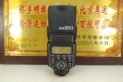 佳能 430EX II 闪光灯 二代 原厂外置机顶灯 TTL自动高速同步