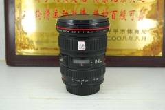 佳能 17-40 F4L USM 单反镜头 全幅超广角 专业红圈 小三元之一