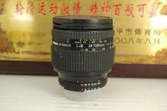 尼康 24-120 F3.5-5.6D 单反镜头 全画幅广角中焦挂机 性价比高