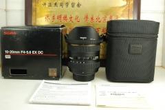 尼康口 适马 10-20 F4-5.6 DC HSM 非全画幅 超广角单反镜头