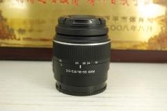 索尼 DT 18-55 F3.5-5.6 SAM 单反镜头 标准变焦 挂机头