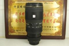 尼康口 适马 70-200 F2.8 II macro 小黑四代 单反镜头 成像好