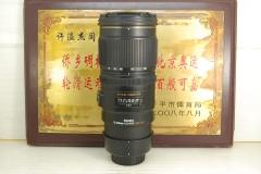 尼康口 适马 70-200 F2.8 OS HSM 小黑五代 单反镜头 恒圈防抖长焦