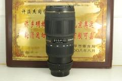 95新 尼康口 适马 70-200 F2.8 II macro 小黑四代 单反镜头 成像好