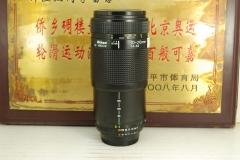 尼康 70-210 F4-5.6 单反镜头 远摄变焦 平民中长焦 金属 打鸟